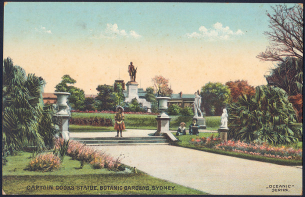 Royal Botanic Gardens. Courtesy State Library of Victoria.