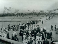 Opening of the Belmore to Bankstown Railway Line, 1909. Courtesy Bankstown City Library and Knowledge Centre Collection.