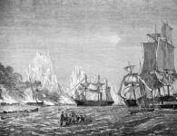 The CSS Shenandoah at work capturing Union ships. Courtesy SLVIC, ID IAN23/02/66/1.