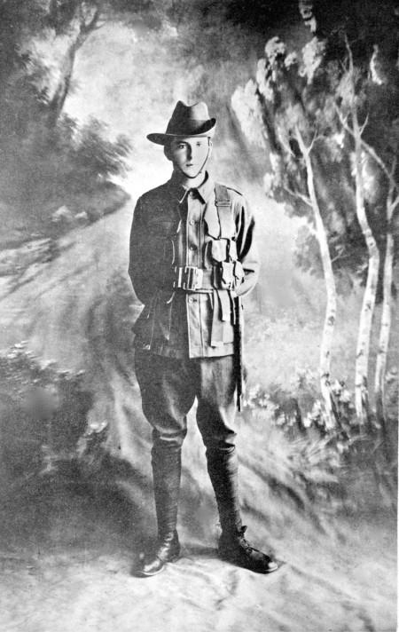 Private William Jackson, VC. Courtesy AWM,