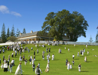 A historic re-enactment on Norfolk Island. Courtesy Norfolk Island Travel Centre.