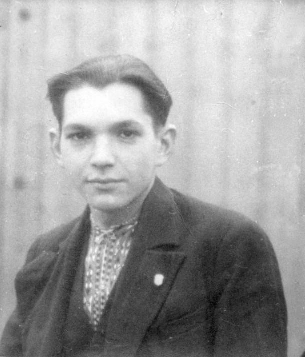 Jan Jakymiw, pictured in 1945.