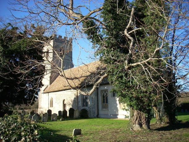 Church of St Edmund in Hauxton, Cambridgeshire. Courtesy Wikimedia and Cruccone.