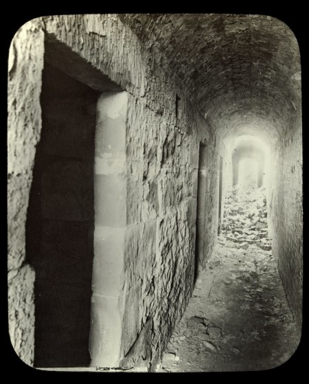 The cells of The Coal Mines Site, Tasman Peninsular by  photographer J.W. Beattie. Courtesy of SLV.