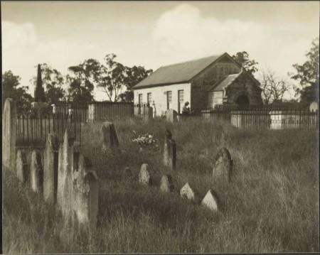 Ebenezer Chapel, Ebenezer, NSW. c.1900 From the E.W. Serle Collection, Courtesy of NLA  http://nla.gov.au/nla.obj-141857044