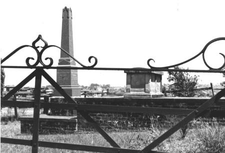 The Pearce Family Grave, in the Pearce Cemetery. Courtesy of BillionGraves.com