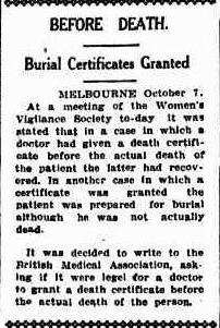 Queensland Times, Saturday 8 October 1932, courtesy of National Library of Australia